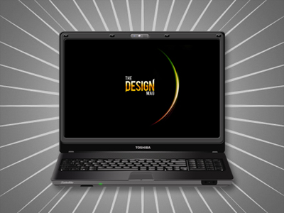 Plantilla de Laptop PSD