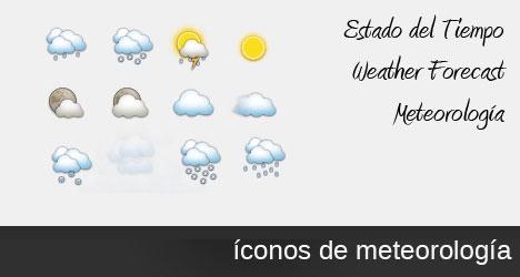 Plantilla para estado meteorológico en PSD
